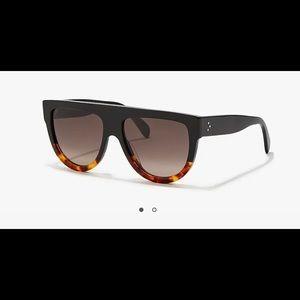 Celine Aviator Sunglasses with dark Havana Frame